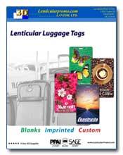 2011 Lenticular Luggage Tags Catalog