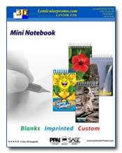 2011 Lenticular Mini Notebooks Catalog