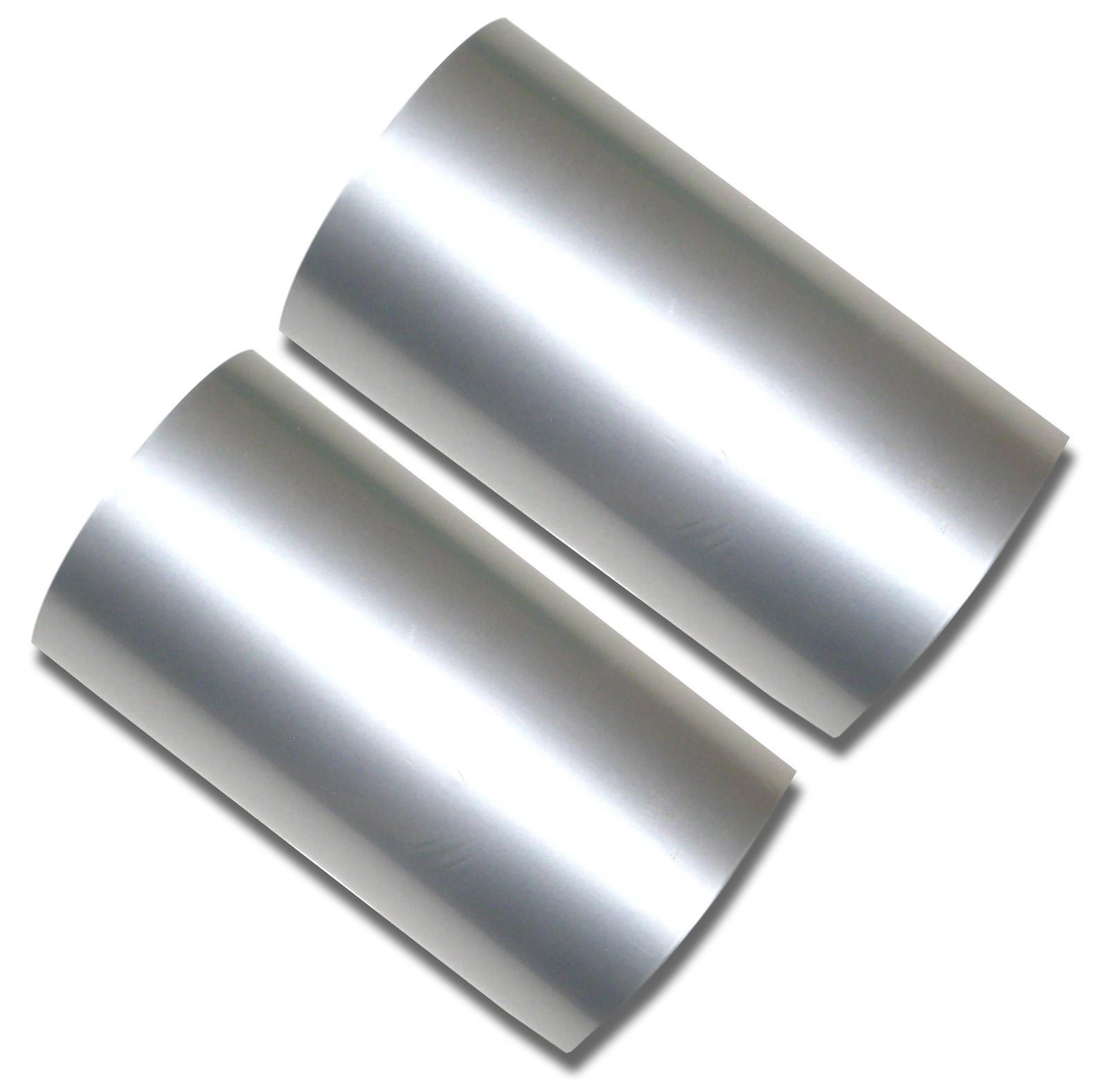 Hot Foil Stamp Rolls Silver