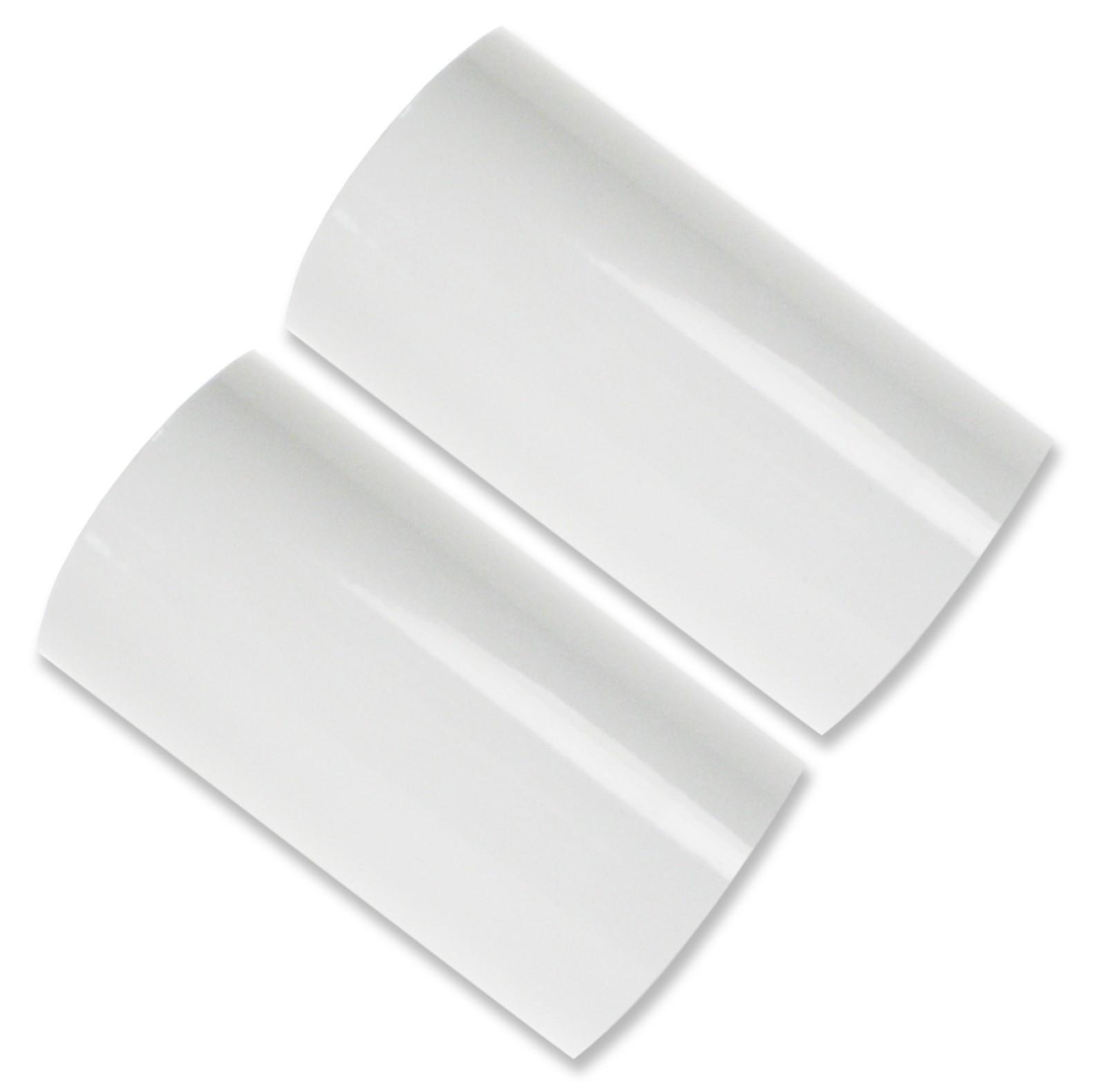 Hot Foil Stamp Rolls White