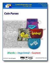 2011 Lenticular Coin Purses Catalog