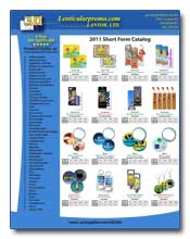 2011 Lenticular Products Summary for Distributors