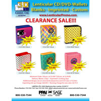 FL118 CD Cases E-Flyer